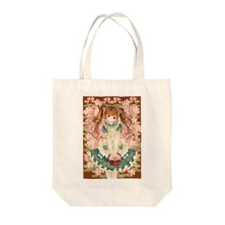乙女桜 Tote bags