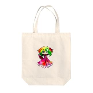 響子 Tote bags