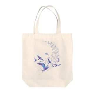 SKY BIRD Tote bags