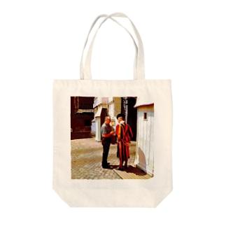CG絵画:バチカンのスイス人衛兵 CG art: Vatican Guard Tote bags