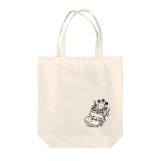 空打ちのイヌ Tote bags