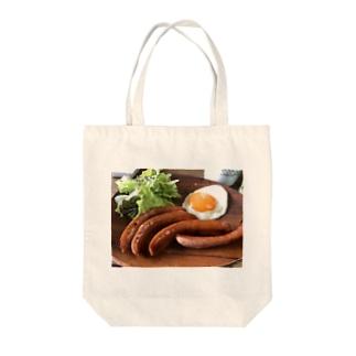 飯テロ Tote bags