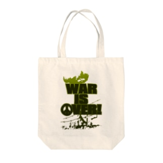 WAR_IS_OVER! Tote bags