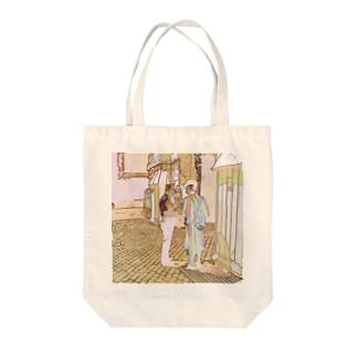CG絵画:ヴァチカンのスイス人衛兵 CG art: Vatican guard Tote bags