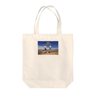 「心開いてご縁広がれ」by 言霊屋いたる Tote bags