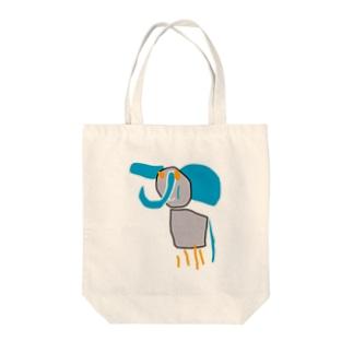 ちびっ子画伯のらくがき「ぞう」 Tote bags