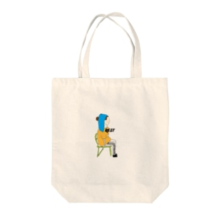 Rest girl Tote bags