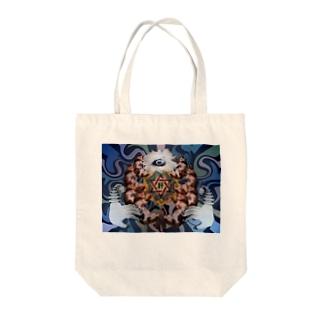 猫曼荼羅 Tote bags