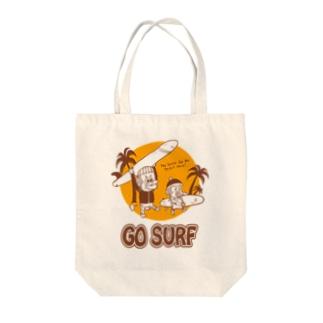 サーフモンモンA Tote bags