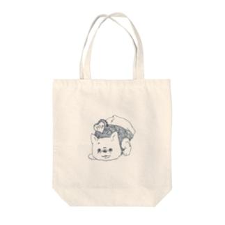 蠍座 フレブル Tote bags