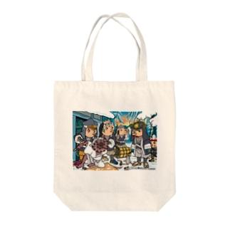 あまびえアートチャレンジ@もりいくすお Tote bags