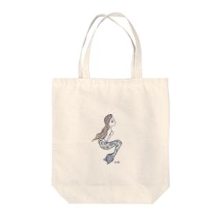 AitAnの人魚姫 Tote bags