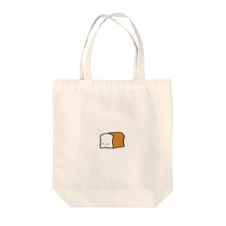 ねむる しょくぱん Tote bags