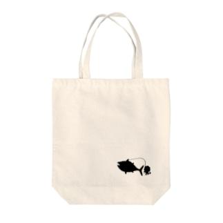 影バージョントート Tote bags