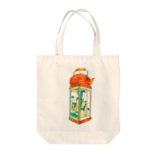 南極ストウブ② Tote bags