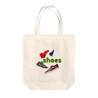 RDesignのshoes Arrange Tote bags