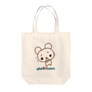 名も無きクマ Tote bags