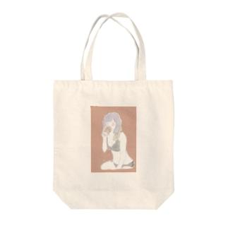 山田の店の風呂上りすぐビールのみたがーる Tote bags