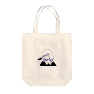 オタクちゃん Tote bags
