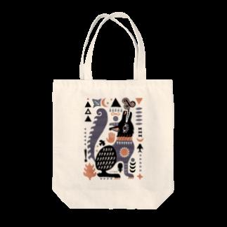 riya のBLACK WOLF Tote bags