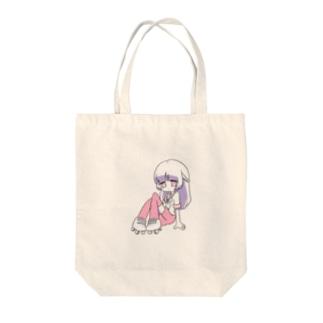 ローラースケートちゃん Tote bags