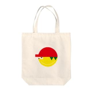 おとぼけジェニファーくん Tote bags