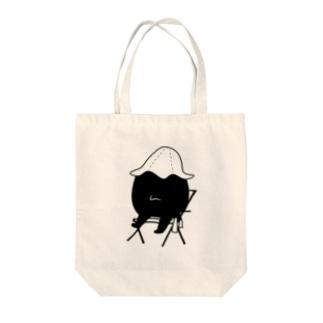 SAUNA_GAIKIYOKU Tote bags