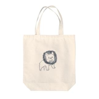 真奈美の獅子座 フレブル Tote bags