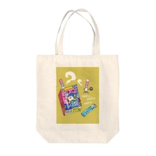 mokumokuタバコック Tote bags