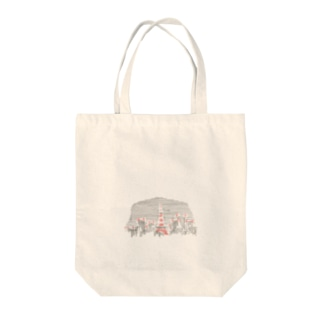 TOKYO TOWER Tote bags