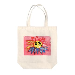 keicotton_おひさま Tote bags