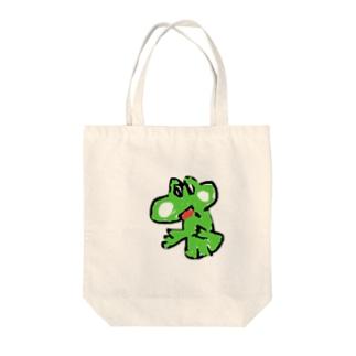 ヨッシー Tote bags