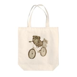 モジロー Tote bags