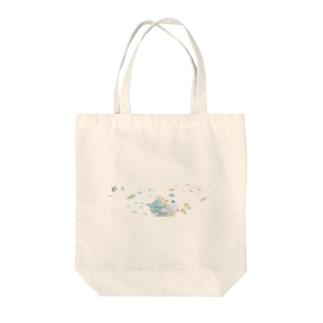 サンゴ礁 Tote bags