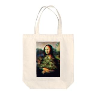 【GoodTrip】 ブリブリモナリザ トートバッグ Tote bags