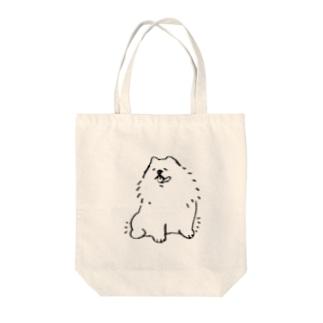 ほがらかチャウチャウ Tote bags