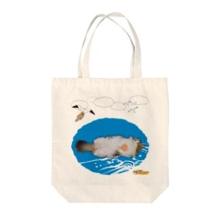 ラッ小太狼 Tote bags