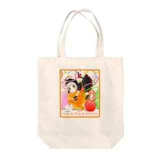 ねこねこ Fun Time Tote bags