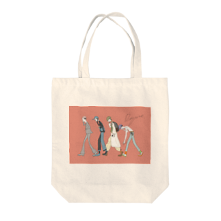 DAYZONEの2日酔い出勤ステッカー Tote bags