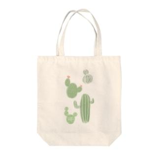 サボテン4 Tote bags