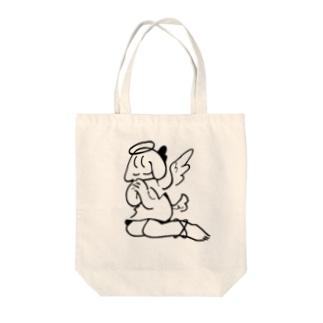 いぬてんし(座) Tote bags
