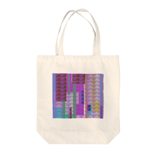 colorful bill Tote bags