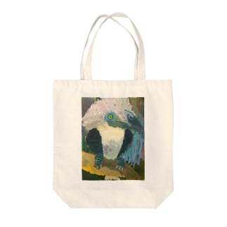 サイチョウ Tote bags