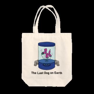 PENGUIN PEARL PRESENTSのThe Last Dog on Earth  Tote bags
