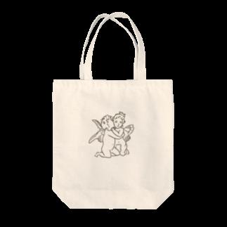 SAN4.のxox ANGEL Tote bags