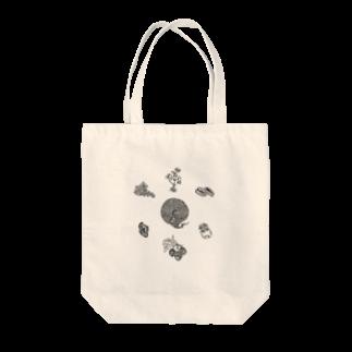 UME_UMEのゆうれいねこのつくりかた Tote bags