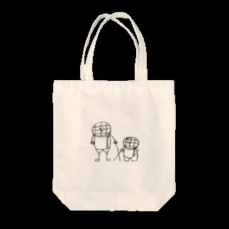 えすくりむん(フェンシング君)のえすくり兄弟 Tote bags