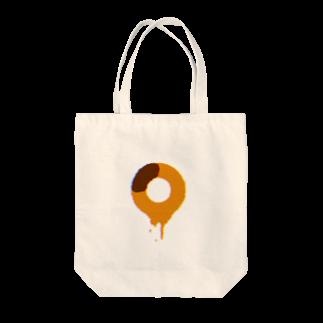 super niceのとけるドーナツ Tote bags