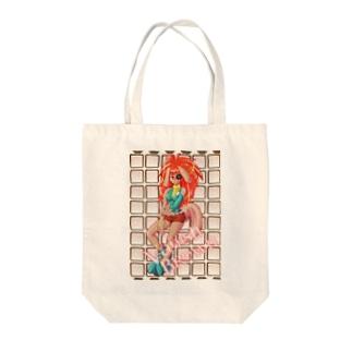バニッシュ Tote bags