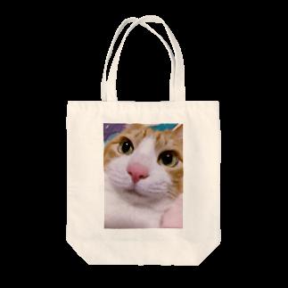 昭和~平成~令和系のりさぴん@の保護猫 セサミくん Tote bags